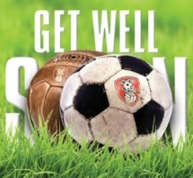 Get Well Football Card