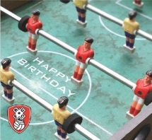 Vintage Foozball Birthday Card