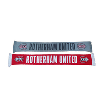 Rotherham United Text Scarf