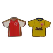 1982+1988 Shirt Pin Badges